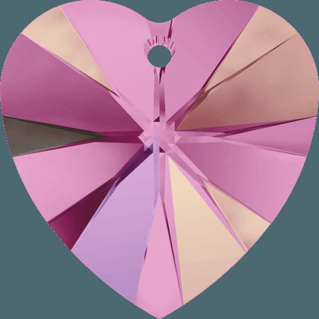Swarovski 6228 - XILION Heart, Rose AB