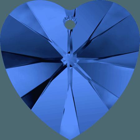 Swarovski 6228 - XILION Heart, Sapphire