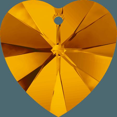 Swarovski 6228 - XILION Heart, Tangerine