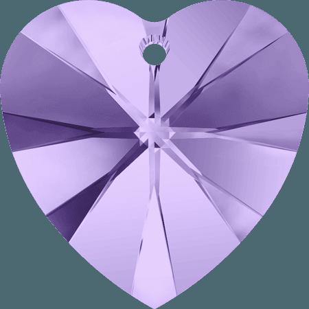 Swarovski 6228 - XILION Heart, Tanzanite