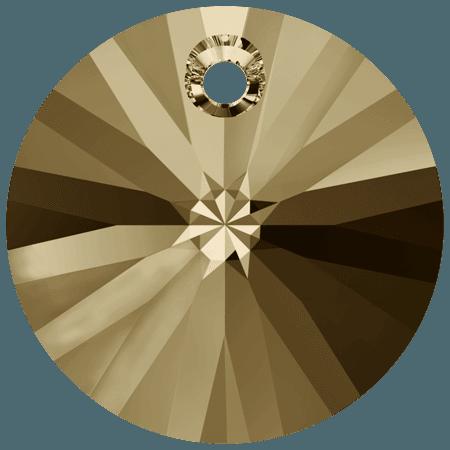 Swarovski 6428 CR Golden Shadow