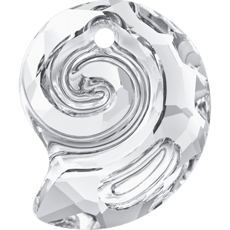 Swarovski 6731 - Sea Snail partly frosted