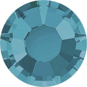 Stellux Flat Back – Hotfix, Aquamarine