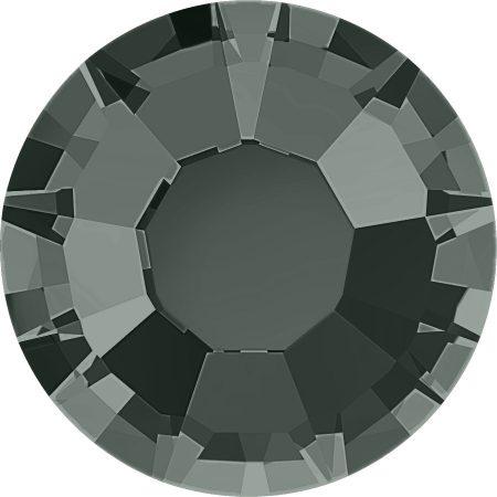 Stellux Flat Back – Hotfix, Black Diamond