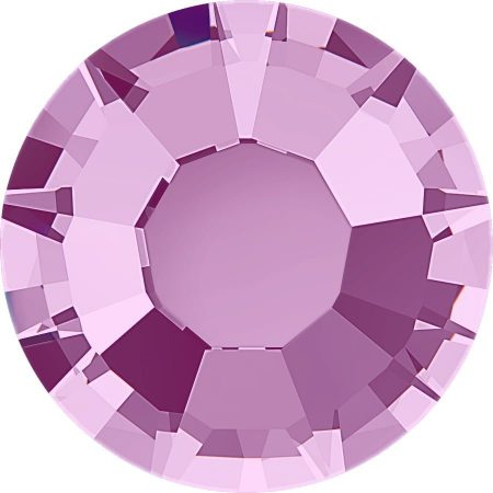 Stellux Flat Back – Hotfix, Light Amethyst