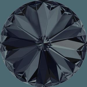 Swarovski 1122 – Rivoli Chaton, Graphite