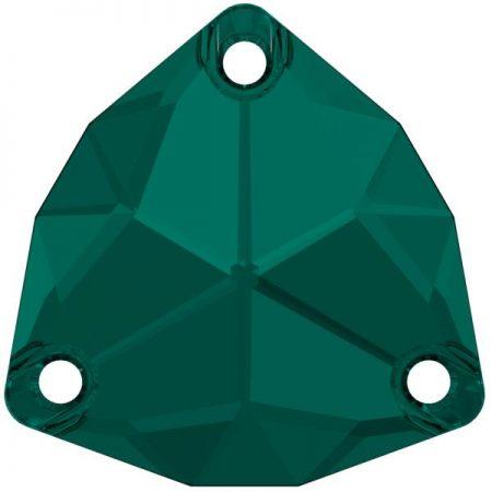 Swarovski 3272 - Trilliant, Emerald