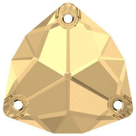 Swarovski 3272 - Trilliant, Crystal Golden Shadow