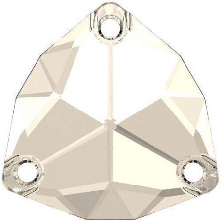 Swarovski 3272 - Trilliant, Crystal Silver Shade
