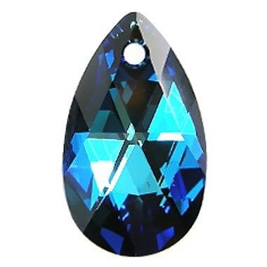 Swarovski 6106 - Pear-shaped, CR Bermuda Blue