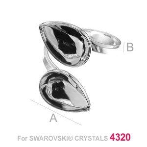 Swarovski 4320, Drop