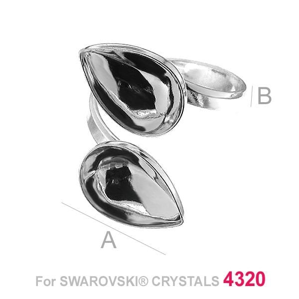 Swarovski 4320, Drop