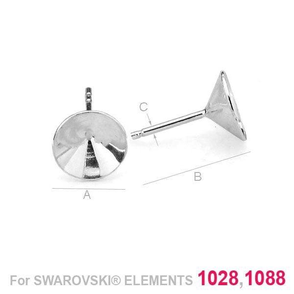 Swarovski 1028/1088, Xilion Chaton