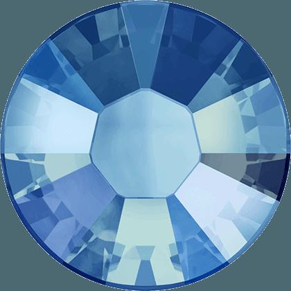 Swarovski 2038 - XILION Rose, Hotfix, Light Sapphire Shimmer