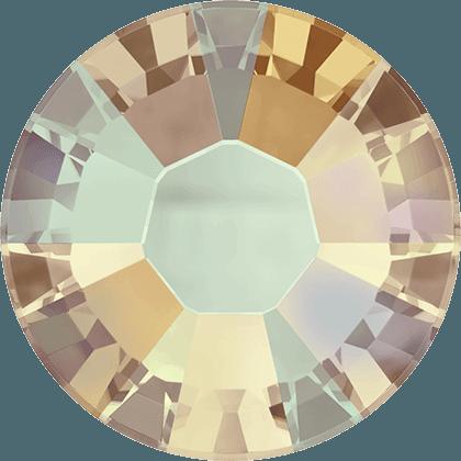 Swarovski 2038 - XILION Rose, Hotfix, Silk Shimmer