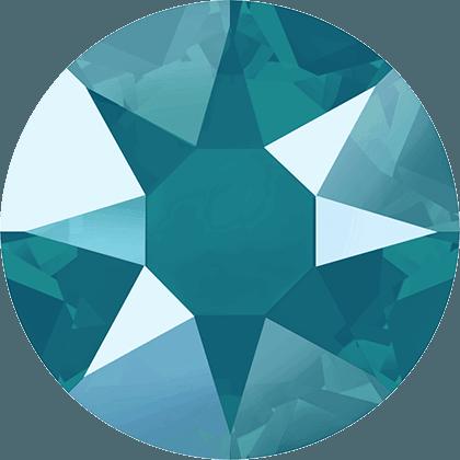 Swarovski 2078 - XIRIUS Rose, Hotfix, Crystal Azure Blue