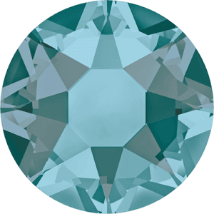 Swarovski 2078 - XIRIUS Rose, Hotfix, Blue Zircon Satin