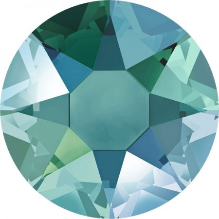 Swarovski 2078 - XIRIUS Rose, Hotfix, Blue Zircon Shimmer