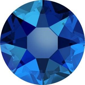 Swarovski 2078 - XIRIUS Rose, Hotfix, Cobalt Shimmer