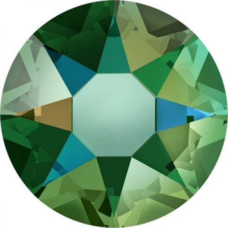 Swarovski 2078 - XIRIUS Rose, Hotfix, Erinite Shimmer