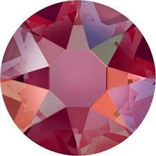Swarovski 2078 - XIRIUS Rose, Hotfix, Hyacinth Shimmer