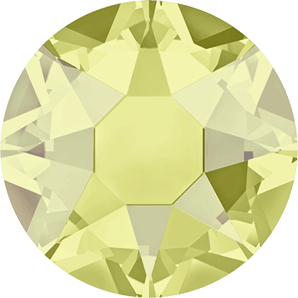 Swarovski 2078 - XIRIUS Rose, Hotfix, Jonquil Satin