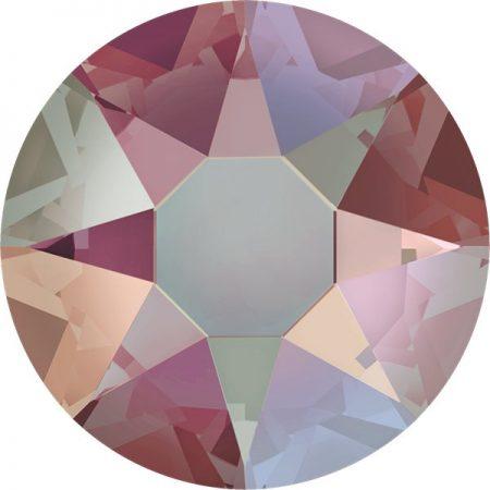 Swarovski 2078 - XIRIUS Rose, Hotfix, Light Colorado Topaz Shimmer
