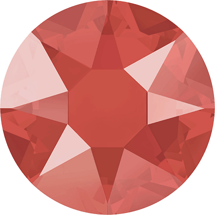 Swarovski 2078 - XIRIUS Rose, Hotfix, Crystal Light Coral