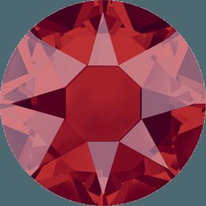 Swarovski 2078 - XIRIUS Rose, Hotfix, Light Siam Satin