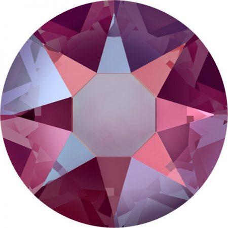 Swarovski 2078 - XIRIUS Rose, Hotfix, Light Siam Shimmer