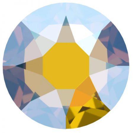 Swarovski 2078 - XIRIUS Rose, Hotfix, Light Topaz Shimmer