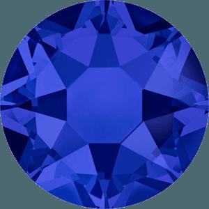 Swarovski 2078 - XIRIUS Rose, Hotfix, Crystal Meridian Blue