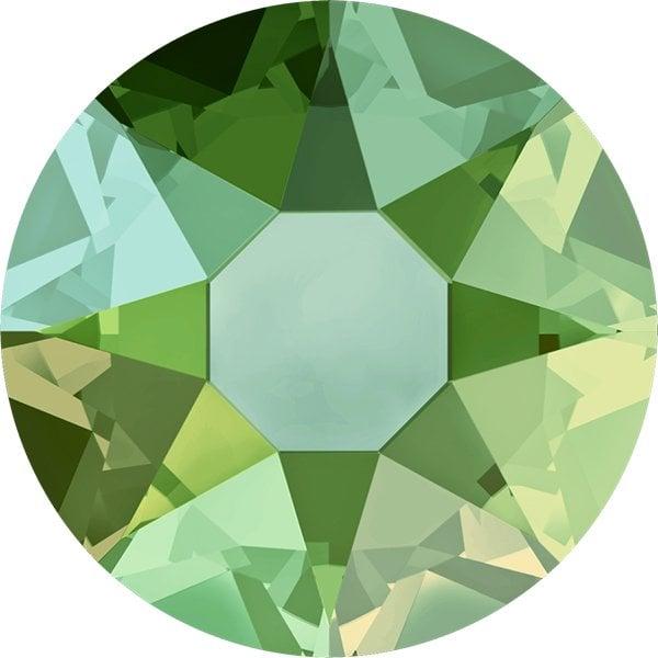 Swarovski 2078 - XIRIUS Rose, Hotfix, Peridot Shimmer