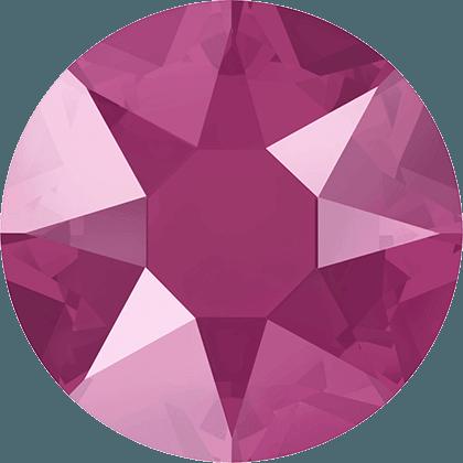 Swarovski 2078 - XIRIUS Rose, Hotfix, Crystal Pink Peony