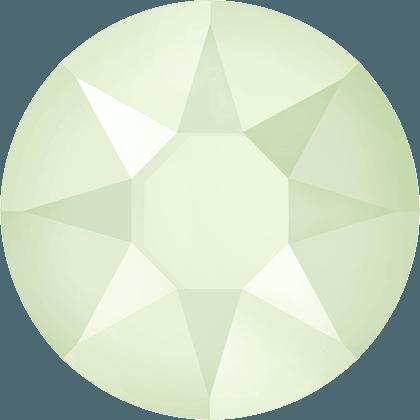 Swarovski 2078 - XIRIUS Rose, Hotfix, Crystal Powder Green