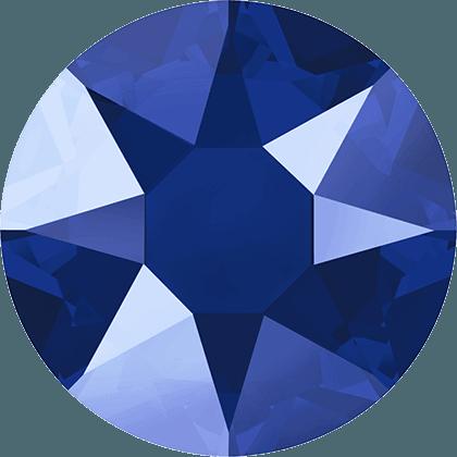 Swarovski 2078 - XIRIUS Rose, Hotfix, Crystal Royal Blue