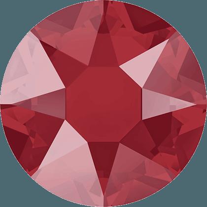 Swarovski 2078 - XIRIUS Rose, Hotfix, Crystal Royal Red