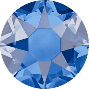 Swarovski 2078 - XIRIUS Rose, Hotfix, Sapphire Satin