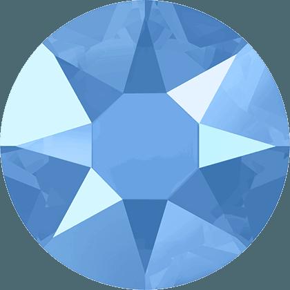 Swarovski 2078 - XIRIUS Rose, Hotfix, Crystal Summer Blue
