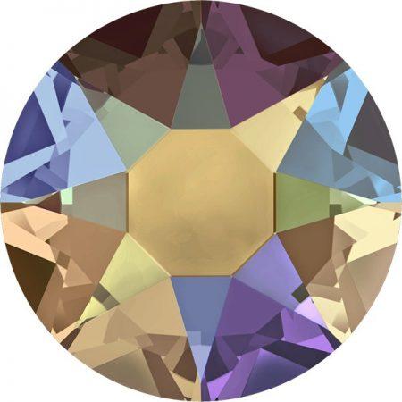 Swarovski 2078 - XIRIUS Rose, Hotfix, Topaz Shimmer