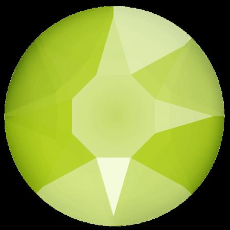 Swarovski 2078 - XIRIUS Rose, Hotfix, Crystal Lime