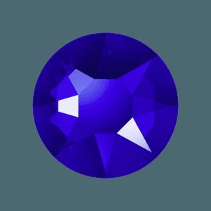 Swarovski 2078 - XIRIUS Rose, Hotfix, Majestic Blue