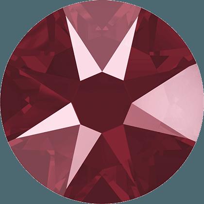 Swarovski 2088 - Xirius Rose, Crystal Dark Red