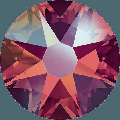 Swarovski 2088 - Xirius Rose, Light Siam Shimmer