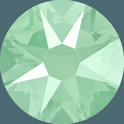 Swarovski 2088 - Xirius Rose, Crystal Mint Green