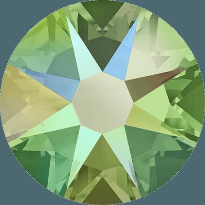 Swarovski 2088 - Xirius Rose, Peridot Shimmer