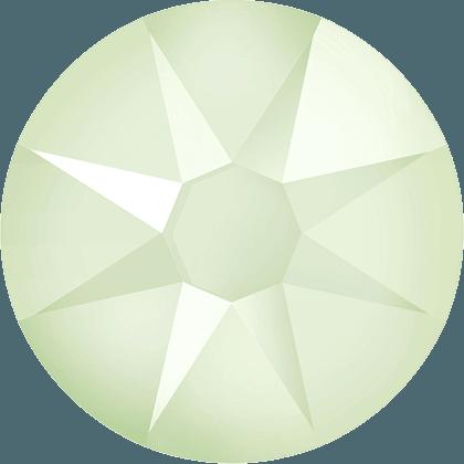 Swarovski 2088 - Xirius Rose, Crystal Powder Green