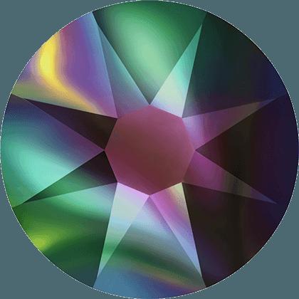 Swarovski 2088 - Xirius Rose, Crystal Rainbow Dark
