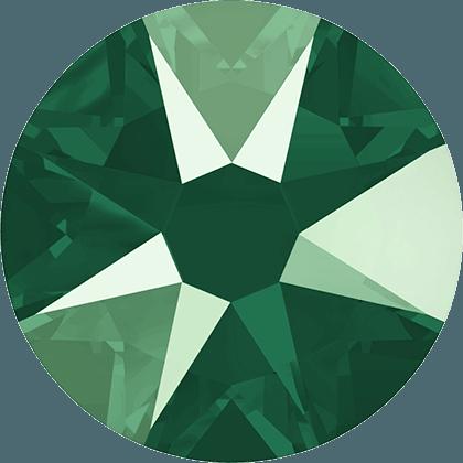 Swarovski 2088 - Xirius Rose, Crystal Royal Green