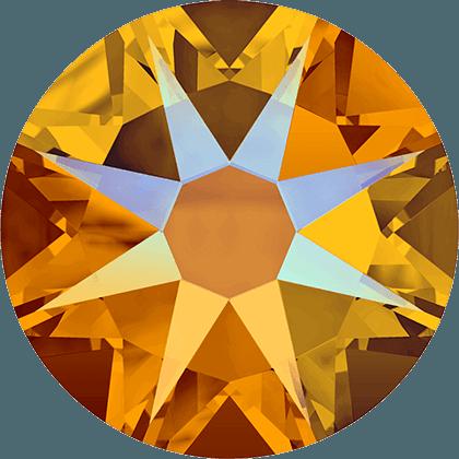 Swarovski 2088 - Xirius Rose, Tangerine Shimmer